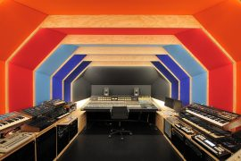 Fairfax Designed Retrofuturistic Recording Studio in Paris for Etienne de Crecy