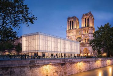 Gensler Unveils Design for Temporary Pavillon Notre‑Dame in Paris