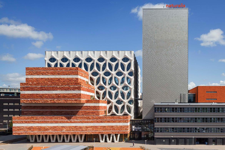 Neutelings Riedijk Architects + Iris van Herpen Designed Naturalis Biodiversity Center in Leiden