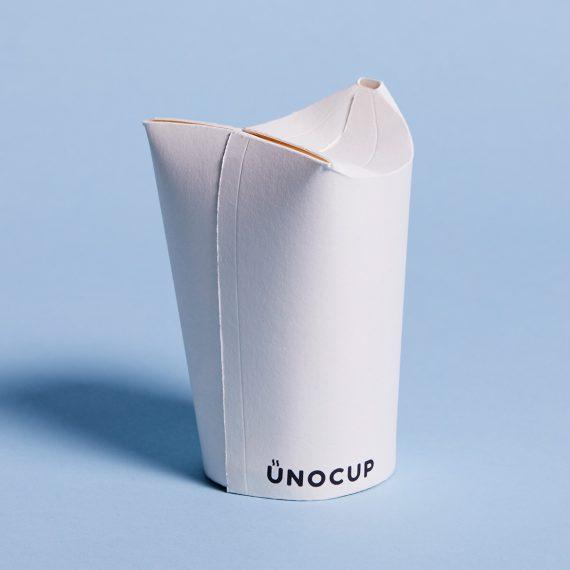Unocap – Foldable Paper Coffee Cup That Replaces Plastic Lids