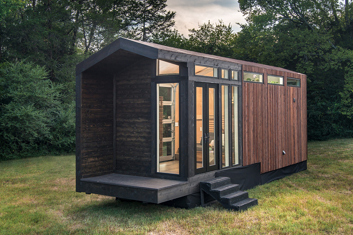 Compact Living:: Orchid Tiny House for Four Persons