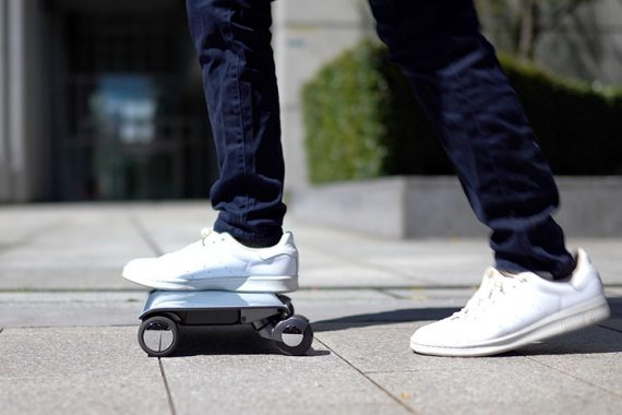 WALKCAR — Electric Vehicle You Can Carry Around Like a Laptop