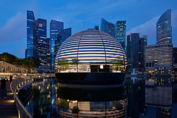 Apple's Most Ambitious Retail Project Opens in Singapore