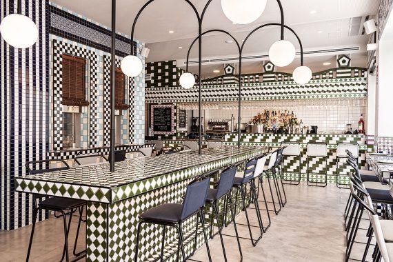 Masquespacio Designs Eclectic Interior for La Sastrería Restaurant in Valencia