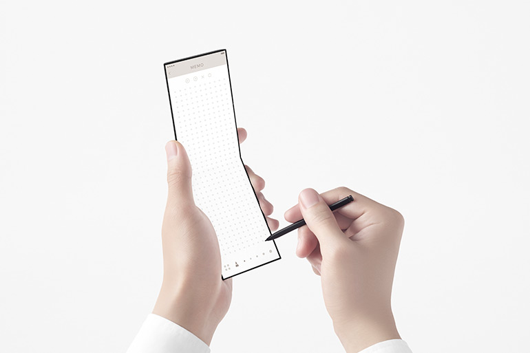Nendo Designed Ultra-Compact Smartphone With Foldable Screen for OPPO