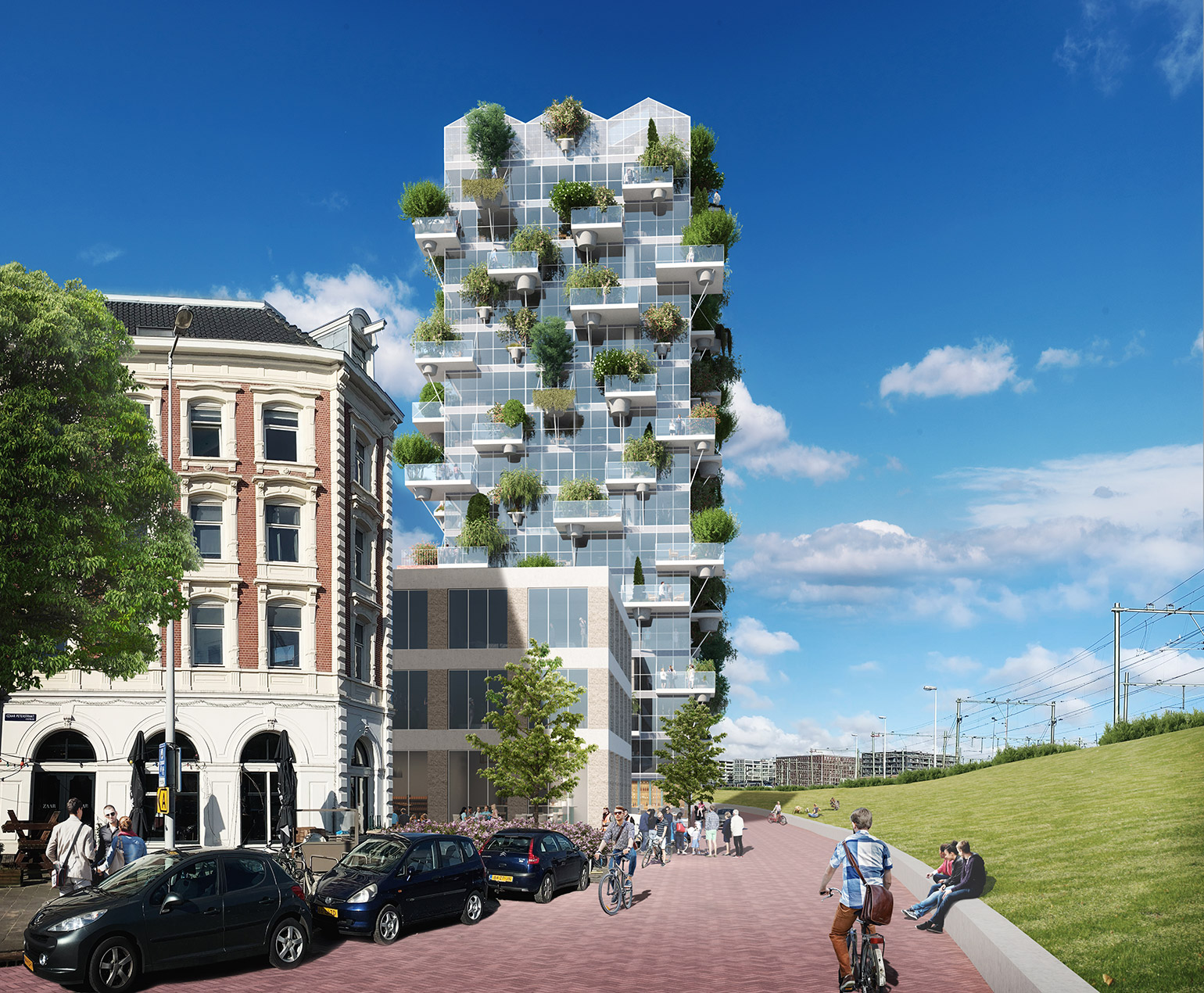 MVRDV Designed Green and People-Focused Residential Complex in Amsterdam