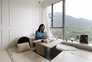 Compact Living:: 45 Sqm Four-Bedroom Apartment in Hong Kong