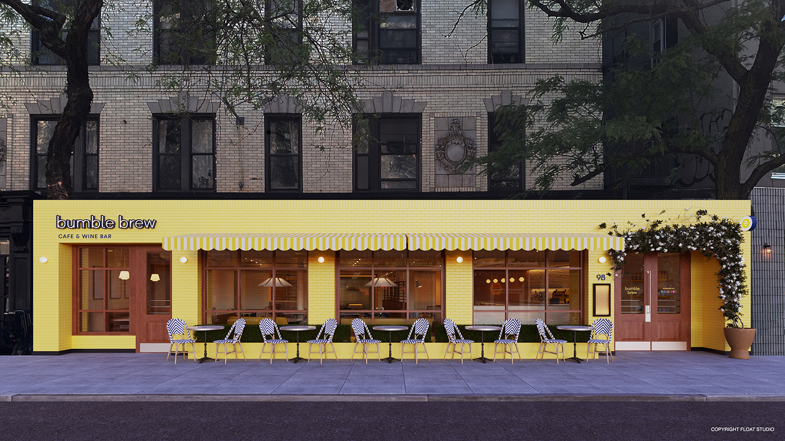 Bumble Opens Its First Restaurant in New York to Help People Date IRL