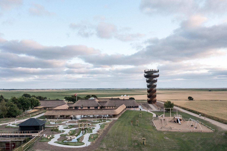 BIG-Designed Observation Tower Opens in Denmark
