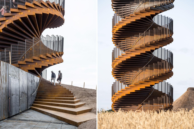 Marsk Observation Tower Designed by BIG Opens in Denmark